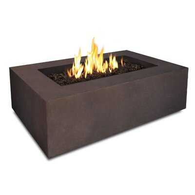 Baltic Concrete Natural Gas Fire Pit Table - AllModern