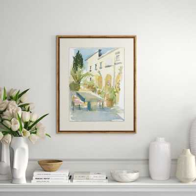 Providence Art 'Il Convento Italy' - Picture Frame Print on Glass - Perigold