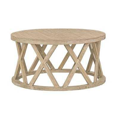 Solid Wood Frame Coffee Table - Wayfair