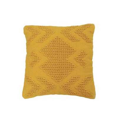 Westerly Cotton Geometric Throw Pillow - Wayfair