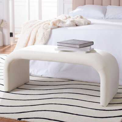 Andee Upholstered Bench - Wayfair
