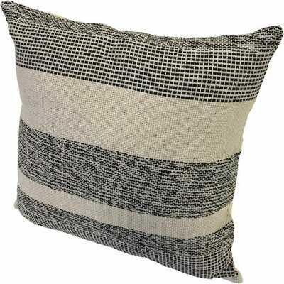 Dvergheim Jute Striped Throw Pillow - Wayfair