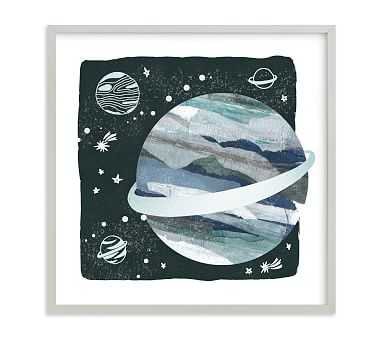 Minted(R) Space Doodle Wall Art by Mayflower Press; 16x16, Gray - Pottery Barn Kids