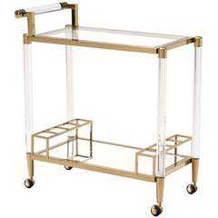 Existential Bar Cart - High Fashion Home