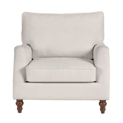 Home Decorators Collection Canfield Evere Ivory Accent Chair (33.5 in. W x 33.86 in. H) - Home Depot