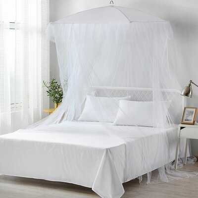 Beus Collapsible Umbrella Mosquito Polyester Bed Canopy - Wayfair