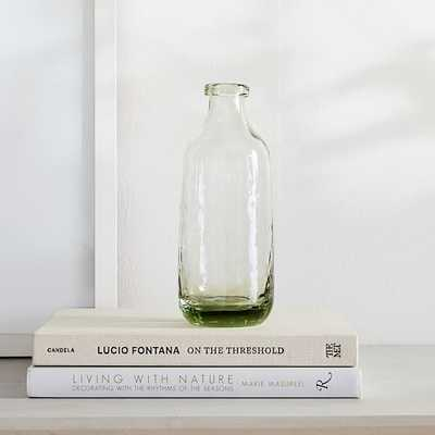 Green Glass Vase, Small - West Elm