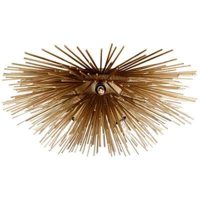 Visual Comfort Kelly Wearstler 6-Light Flush Mount Finish: Gold - Perigold