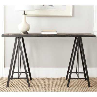 """Troy 53.7 """" Solid Wood Console Table - Wayfair"""