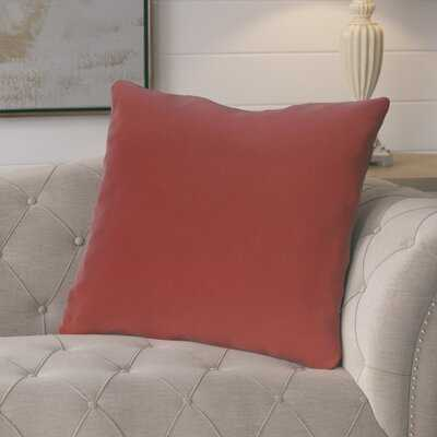 Moshe Solid Decorative Outdoor Square Pillow Cover and Insert - Wayfair