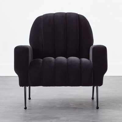 Ardis Black Chair - CB2