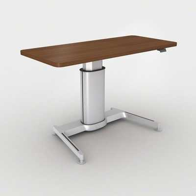 Steelcase Airtouch™ Height Adjustable Standing Desk Finish: True Performance Laminate - Natural Cherry - Perigold