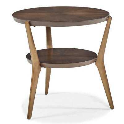 Cambridge 3 Legs End Table with Storage - Wayfair