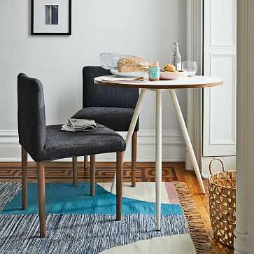 Wren Bistro Table + 2 Ellis Chairs Set - West Elm