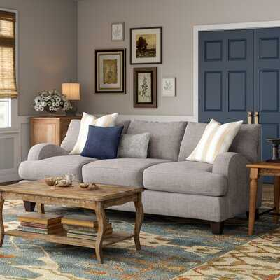 "Barstow 93"" Recessed Arm Sofa - Birch Lane"