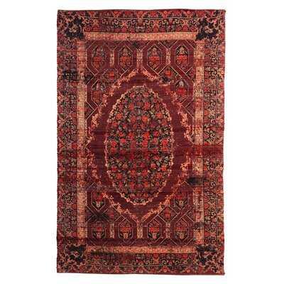 Oriental Handmade Flatweave Red Indoor / Outdoor Area Rug - Wayfair
