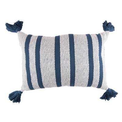 Marguerite Cotton Striped Lumbar Pillow - Birch Lane