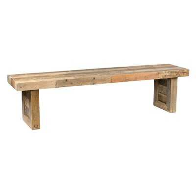 Triston Wood Bench - AllModern