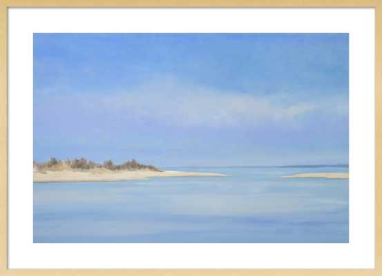 Blue Haze at the Point  by Casey Chalem Anderson for Artfully Walls - Artfully Walls