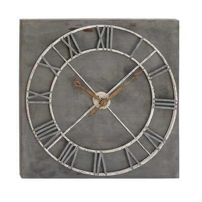 """Mya 36"""" Wall Clock - Wayfair"""