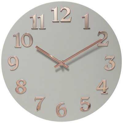 Statler Wall Clock - Wayfair