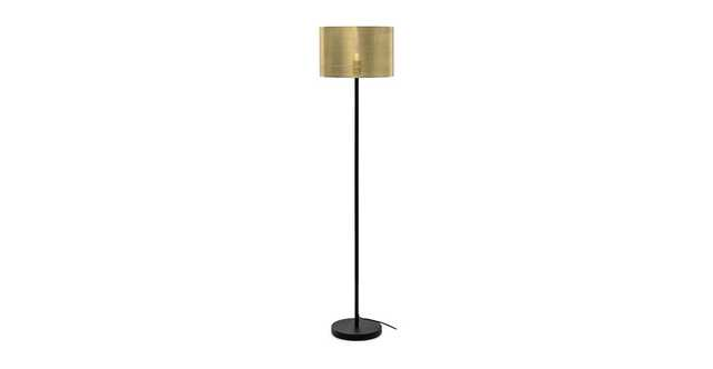 Perforate Brass Floor Lamp - Article