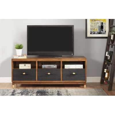 """Augie Solid Wood TV Stand for TVs up to 70"""" - AllModern"""
