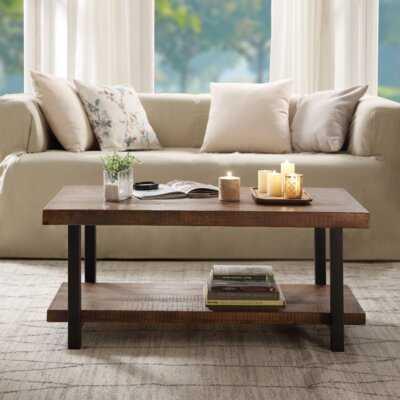 Arsenault Coffee Table with Storage - Wayfair