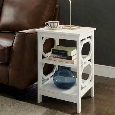 Gerolakkos End Table with Storage - Wayfair