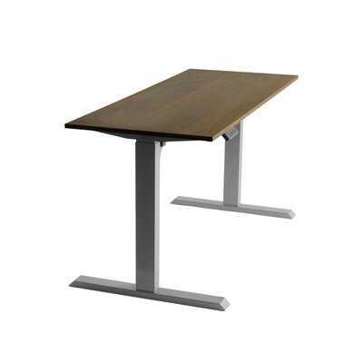 Electric Motorized Workstation Height Adjustable Gaming Desk - Wayfair