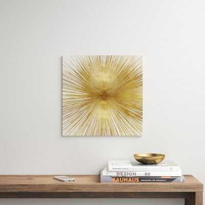 Radiant Gold by Abby Young - Wrapped Canvas Graphic Art Print - AllModern