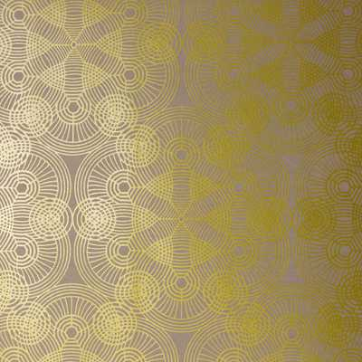 Brewster Wallcovering Aero Gold Geometric Strippable Wallpaper Covers 57.8 sq. ft. - Home Depot