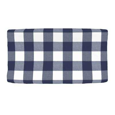 Woven Buffalo Check Changing Pad Cover - Wayfair