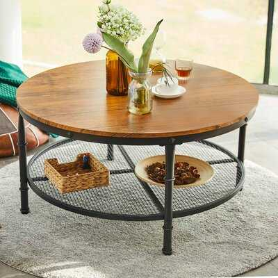 Pleven Coffee Table with Storage - Wayfair