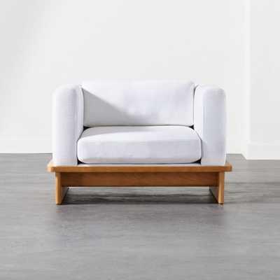 Tablon Snow Chair - CB2
