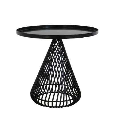Bend Goods Cono Tray Table Color: Black - Perigold