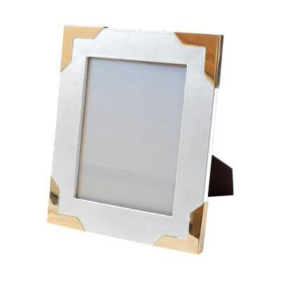 """Thurston Reed Derby Picture Frame Color: White, Size: 6"""" x 4"""" - Perigold"""