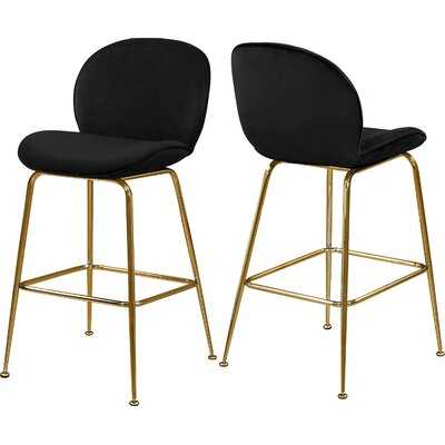 "Bhreatnach 26.5"" Counter Stool (Set of 2) - Wayfair"