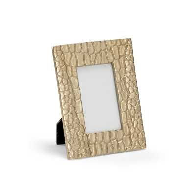 """Wildwood Croco Picture Frame Picture Size: 3"""" x 5"""" - Perigold"""