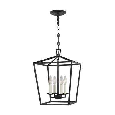 Ellette 4 - Light Lantern Geometric Chandelier - Wayfair