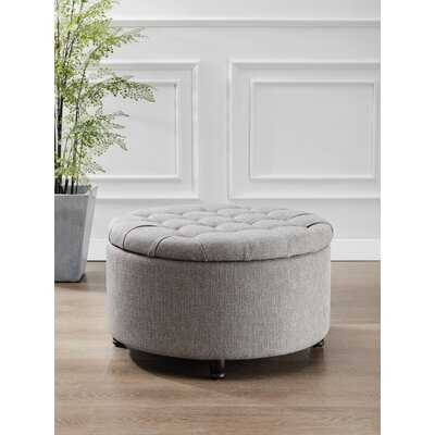 Bencomo Tufted Storage Ottoman - Wayfair