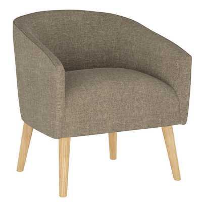 Printer's Row Chair in Zuma Linen - Third & Vine
