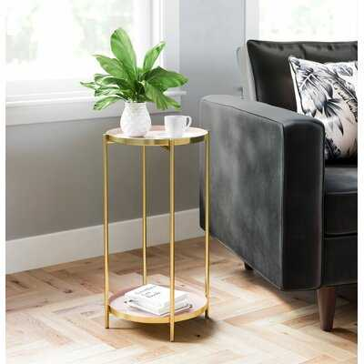 Titan 4 Legs End Table - Wayfair