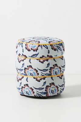 Rayla Storage Ottoman By Anthropologie in Blue - Anthropologie