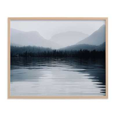 """Glassy Waters Framed Art by Minted(R), Natural, 24""""x30"""" - Pottery Barn Teen"""