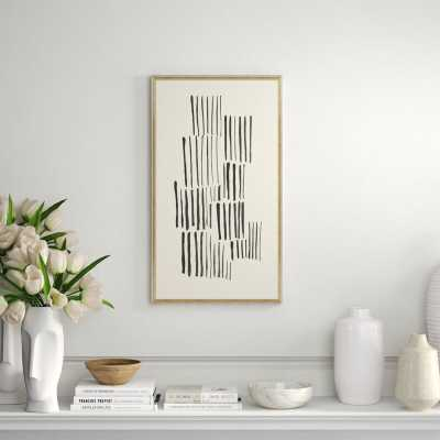 Soicher Marin 'Matchsticks' Framed Graphic Art Print - Perigold