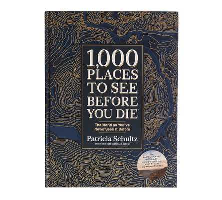 1,000 Places To See Before You Die, Coffee Table Book - Pottery Barn
