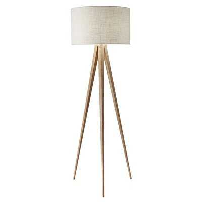 "Teterboro 60"" Tripod Floor Lamp - Birch Lane"