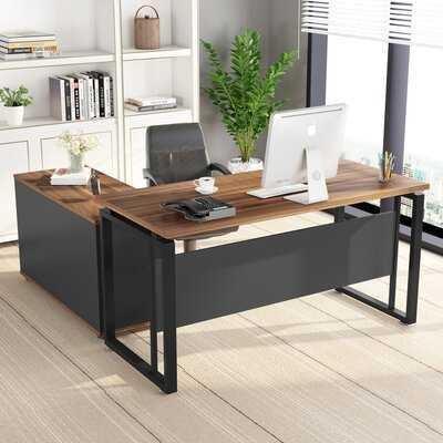 Reversible L-Shape Desk - Wayfair