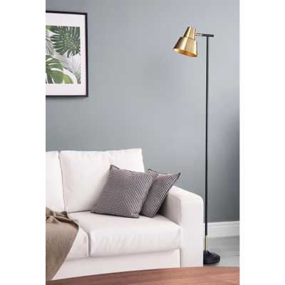 Bromi Design Bryant Brass Floor Lamp - Home Depot